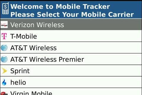 Pageonce Releases Cell Minute Tracker For BlackBerry