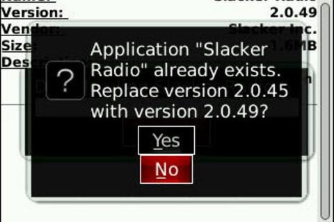 Slacker Radio Updated To Version 2.0.49
