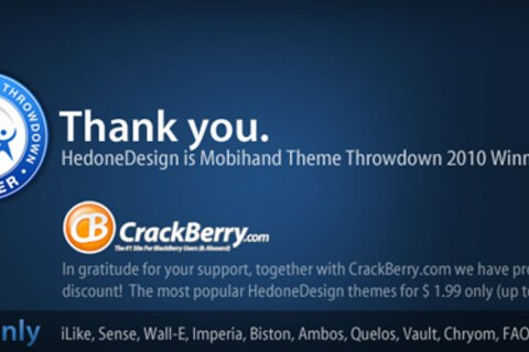 Hedone Designs, Thank You Sale - Most popular themes now available for only $1.99