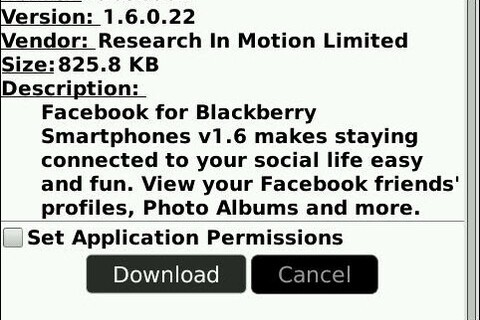 Facebook Version 1.6.0.22 Launches Bringing OS 5.0 Compatibility!