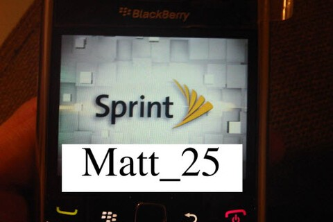 Sprint Branded BlackBerry 9650 Essex Spotted