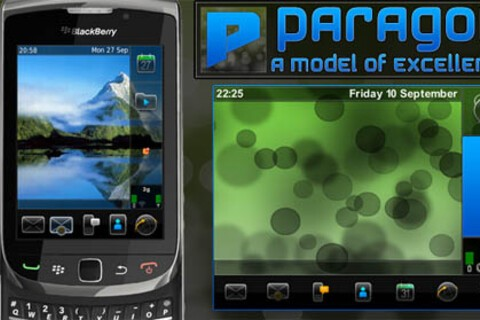 Paragon by AHazDesigns released for BlackBerry Torch!