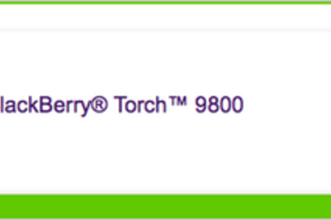TELUS pre ordering of the BlackBerry Torch 9800 now available