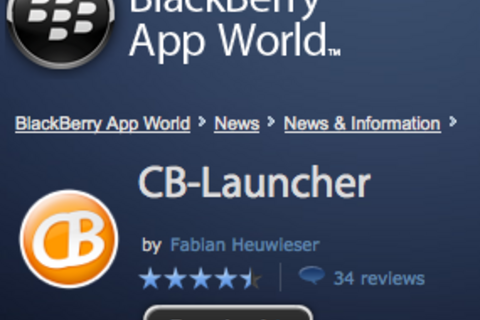BlackBerry App World storefront gets an official launch