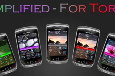 Contest: Simplified for BlackBerry Torch by BBThemes. 100 copies to be won!