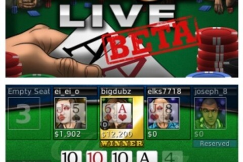 Texas Hold'em King Live - Get in on the open beta today!