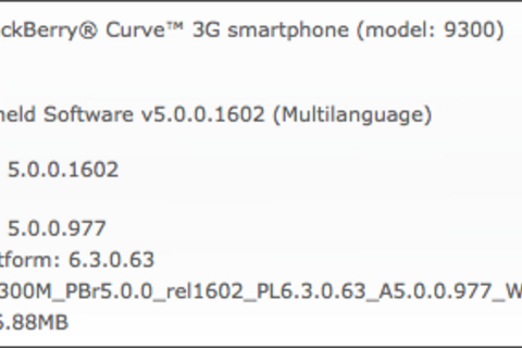 BlackBerry Curve 3G coming to WIND Mobile?!