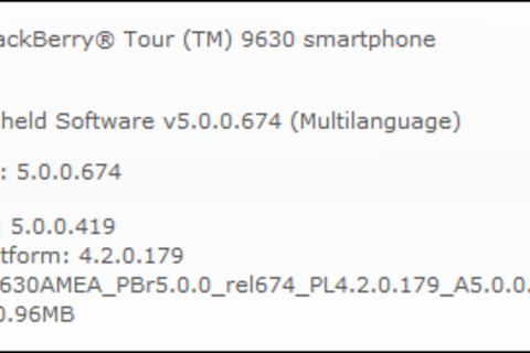 Alltel Releases OS 5.0.0.419 For The BlackBerry Tour