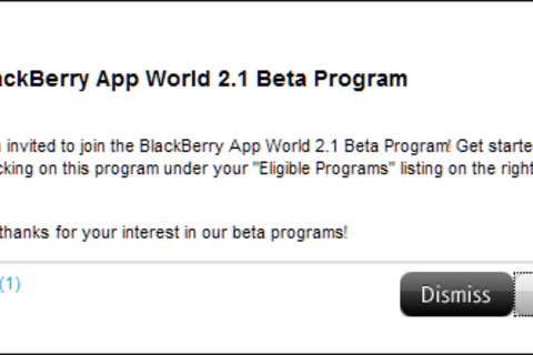 BlackBerry App World 2.1 beta now available in the BlackBerry Beta Zone