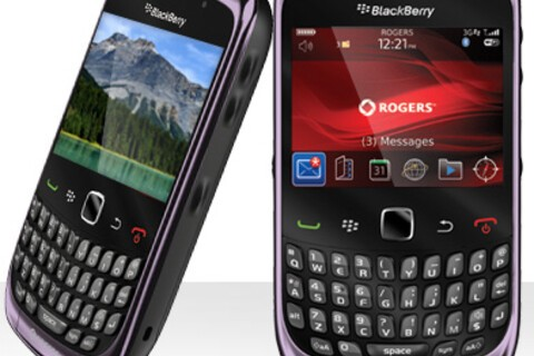 Smokey violet BlackBerry Curve 3G now available from Rogers