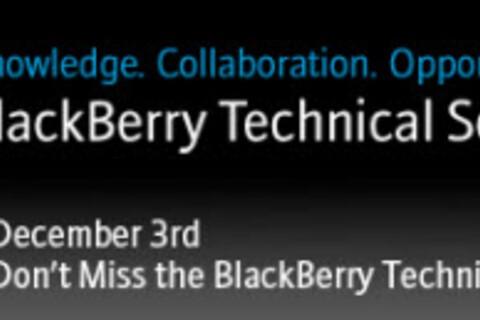 BlackBerry Technical Seminar 2009 Registration Now Open