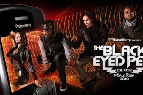 BlackBerry Sponsoring Black Eyed Peas World Tour