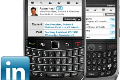 LinkedIn For BlackBerry Now Available For Download