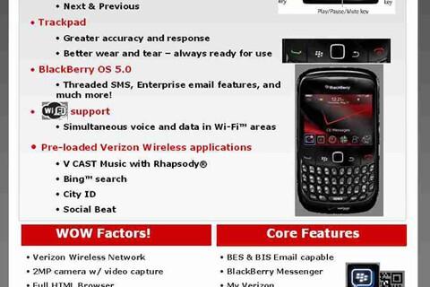 Verizon BlackBerry Curve 8530 Release Date Approaching!