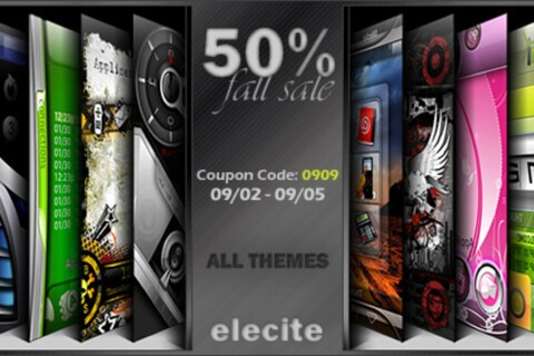 All Elecite Premium Themes Now 50% Off For A Limited Time