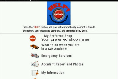 Help I Crashed My Car - A Safety Application For Those In Car Accidents
