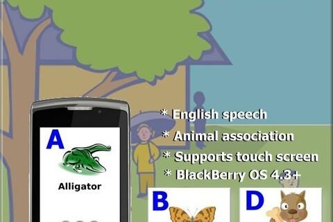 KidsABC by ToySoft - Teach your child the alphabet on your BlackBerry