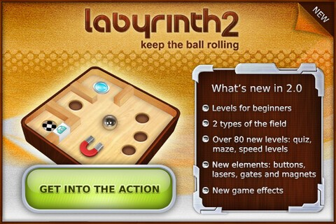 Labyrinth 2 - Now available for the BlackBerry Torch and Storm