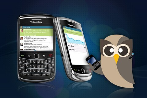 HootSuite for BlackBerry released - download the free public beta