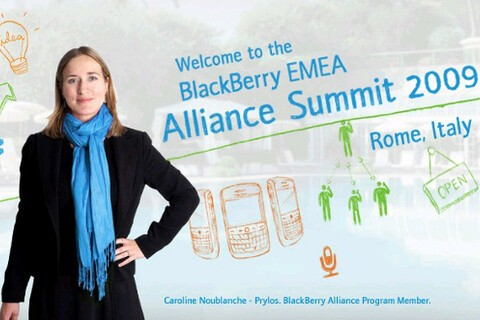 EMEA BlackBerry Alliance Summit  2009 To Be Held In Rome, Italy, This Week