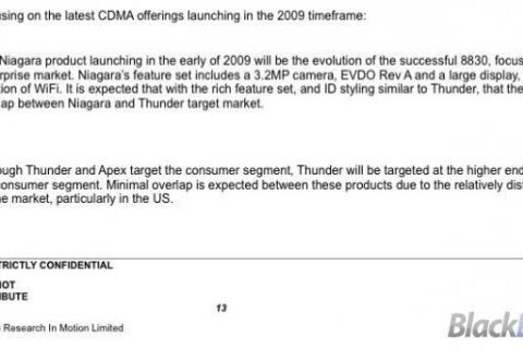 BlackBerry Niagara Returns And The All New Apex?