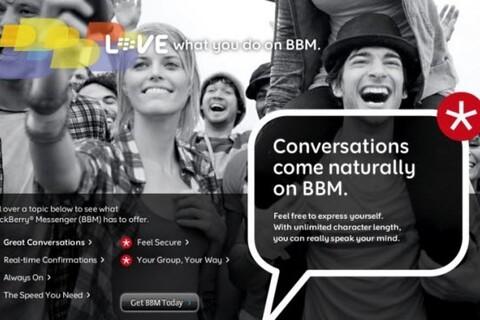 What Is RIM Planning For BlackBerry Messenger?