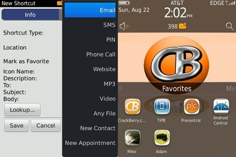 ShortcutManager for your BlackBerry Torch 9800 - 25 copies to be won!