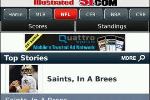 Sports Illustrated Now On Your BlackBerry