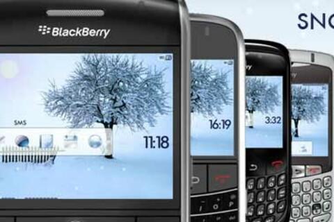 Hedone Design Releases Premium Animated Snow Time Theme for BlackBerry Smartphones