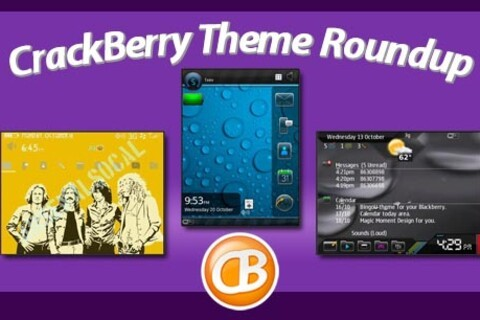 BlackBerry theme roundup for October 25th, 2010 - Enter to win a free copy of Elegance!