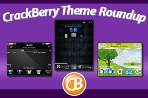 BlackBerry theme roundup for November 1, 2010 - 25 copies of Elite by WJD Designs up for grabs!