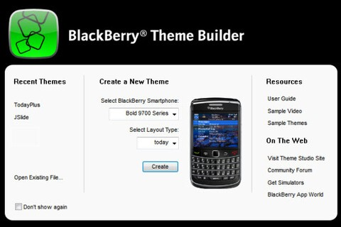 A Quick Look At BlackBerry Theme Builder 5.0 From The Experts!