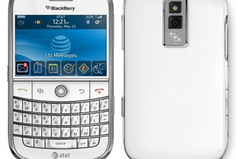 White BlackBerry Bold Arriving On AT&T October 18th