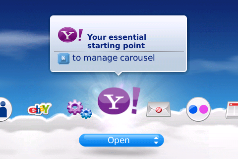 Yahoo!Go Updated For Your Bold!