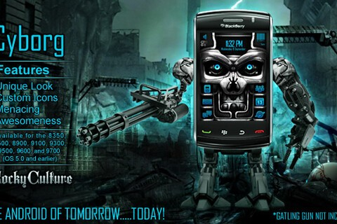 Cyborg theme updated with support for non-touchscreen devices - 50 copies to be won!