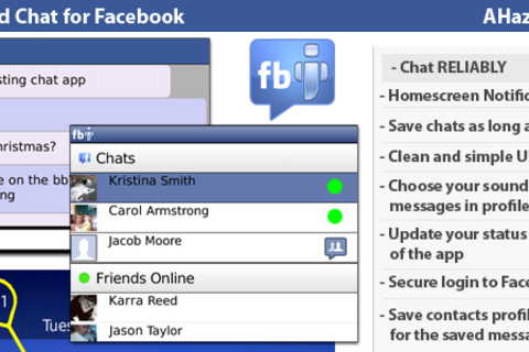 Improved Chat for Facebook - A new app from AHaz Deisgns