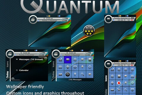 Bring that Quantum of Solace feel to your BlackBerry with Quantum theme - 50 copies to be won!