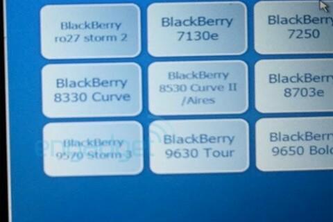 BlackBerry Storm 3 9570 found in Best Buy's Mobile Genie system