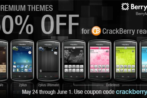 BerryMobi Theme Promotion - 50% Off All Themes til June 1st