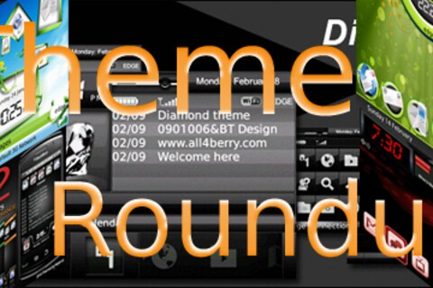 BlackBerry Theme Roundup for February 15th  2010 - 25 Copies of SkyblueBB to be Won!