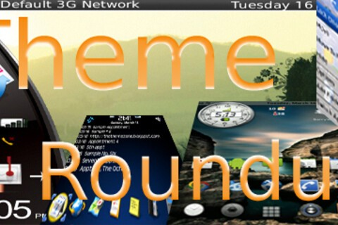 BlackBerry Theme Roundup for March 22nd 2010 -  50 Copies of BlackTechBB to be Won!