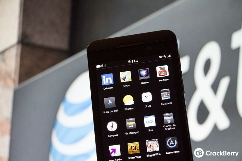 AT&T BlackBerry Z10 'release' date rumors