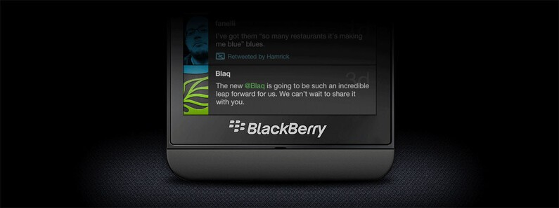 Kisai Labs teases their Twitter client Blaq for BlackBerry 10