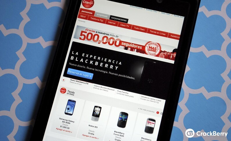 BlackBerry 10 available soon in the Dominican Republic