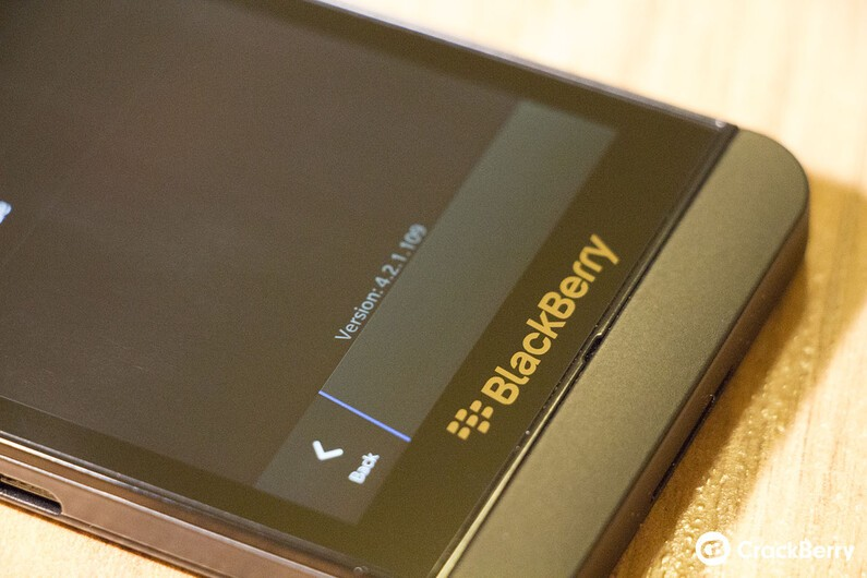 BlackBerry World v4.2.1.109 rolling out to some BlackBerry Z10 owners