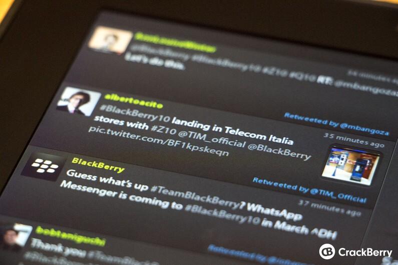 Blaq for BlackBerry PlayBook updated to v1.8.7