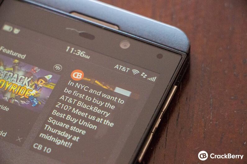 AT&T BlackBerry Z10