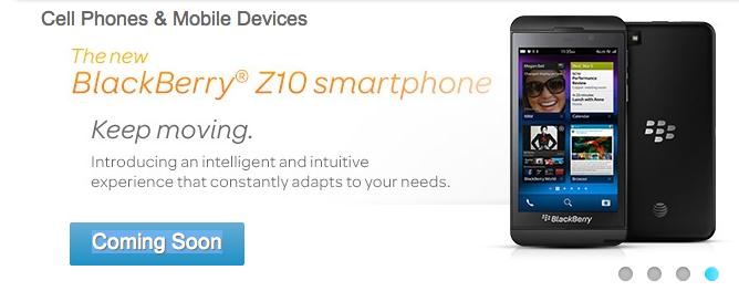 AT&T BlackBerry Z10 Branding