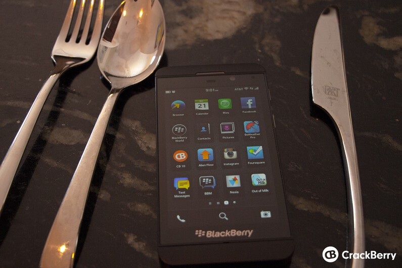 BlackBerry 10 Utensils