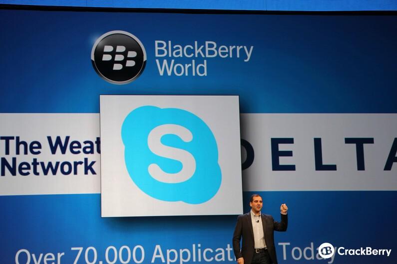 Skype BlackBerry World